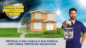 Coral Proteção Sol & Chuva oferece ainda mais proteção para a sua casa e sua família