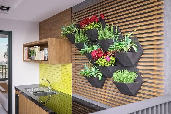 Jardim em casa e seus benefícios